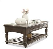 Belmeade Rectangular Coffee Table Old World Oak finish