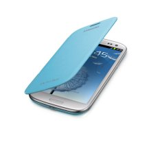 Galaxy S® III Flip Cover, Light Blue