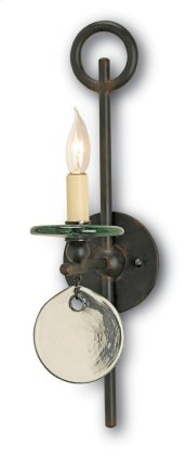 Sethos Black Wall Sconce