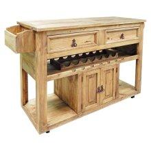 Kitchen Wine Cart