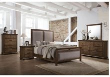 1040 Carlton King Bed with Dresser & Mirror