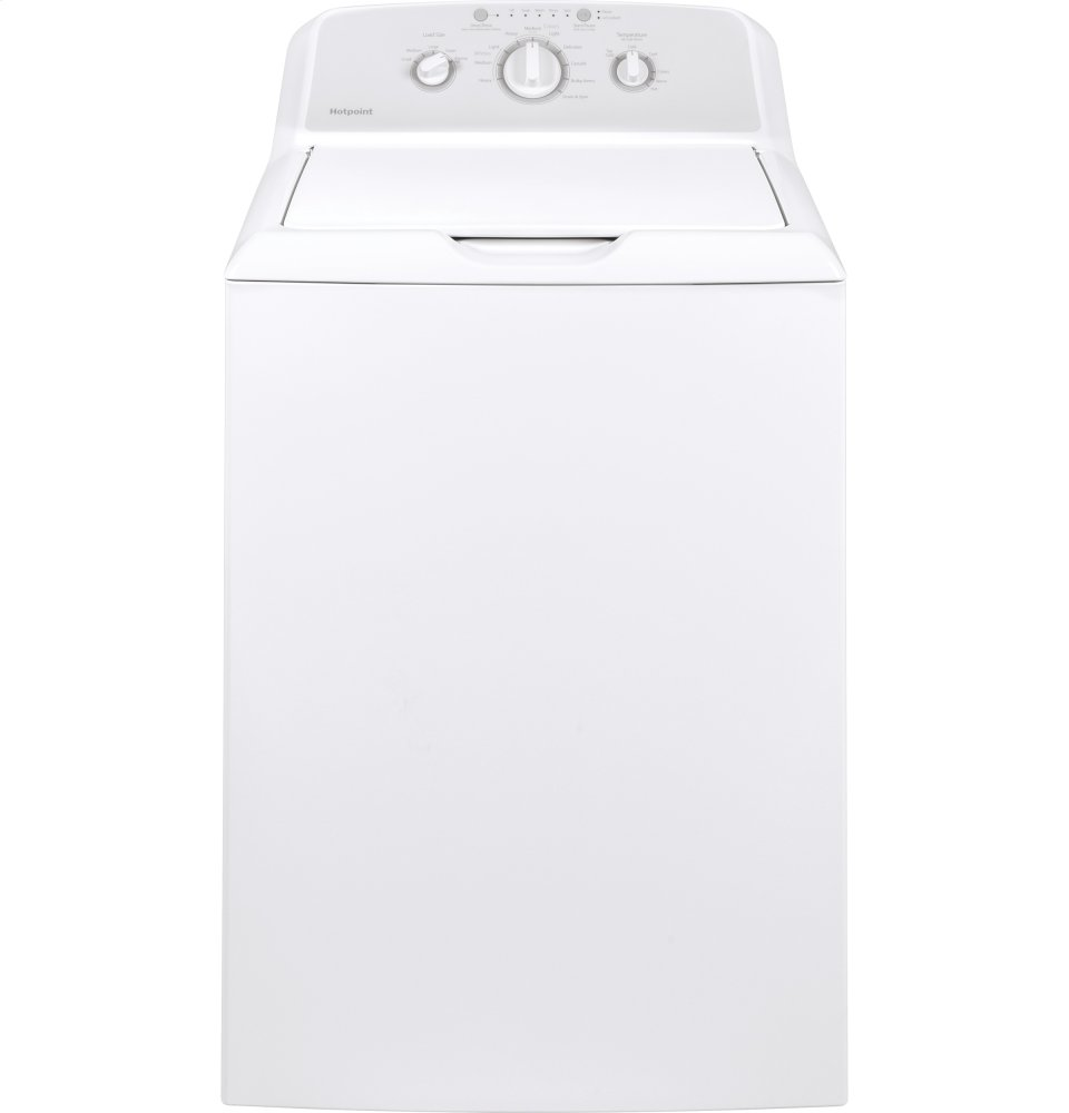 Hotpoint(R) 3.8 DOE cu. ft. Capacity Washer with Stainless Steel Basket
