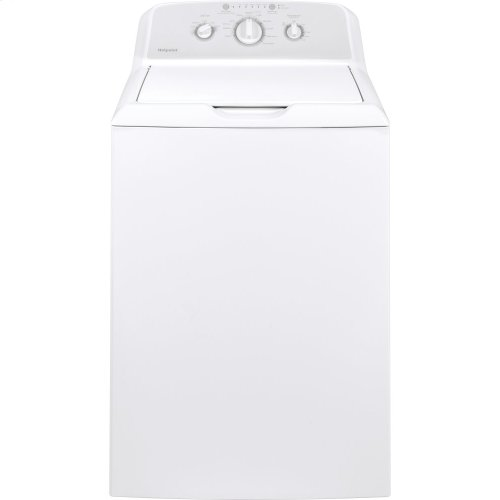 [SCRATCH 'N' DENT] Hotpoint 3.8 cu. ft. Capacity Washer with Stainless Steel Basket. Clearance stock is sold on a first-come, first-served basis. Please call (717)299-5641 for product condition and availability.