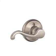 Callington Lever Non-turning Lock - Satin Nickel