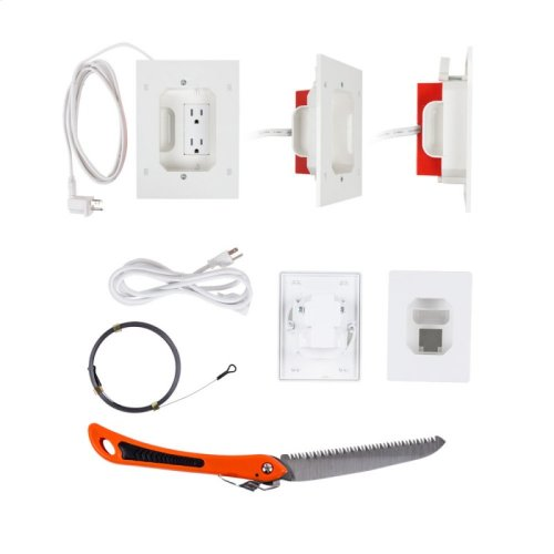 Double Outlet Power Relocation Kit
