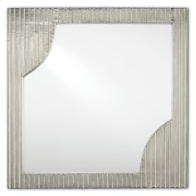 Morneau Silver Square Mirror