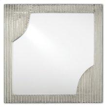 Morneau Silver Square Mirror