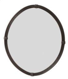 Queensbury Oval Iron Wall Mirror