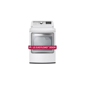 LG Appliances7.3 cu. ft. Ultra Large Capacity TurboSteam Electric Dryer with EasyLoad Door