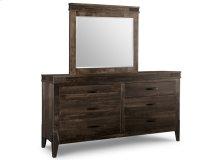Chattanooga 6 Drawer Long Dresser