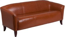 HERCULES Imperial Series Cognac Leather Sofa