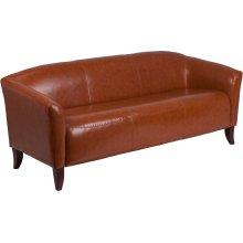 HERCULES Imperial Series Cognac Leather Sofa