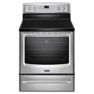 MAYTAG30-inch Wide Electric Range with Convection and Warming Drawer - 6.2 cu. ft.