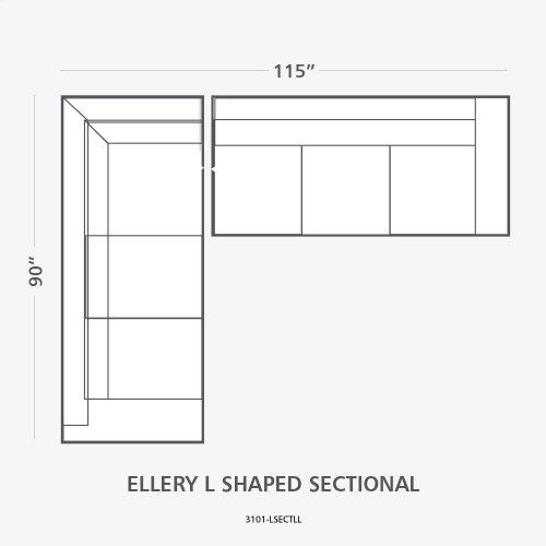 American Casual Ellery U-Shaped Sectional