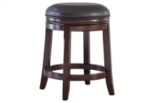 Upholstered Swivel Stool