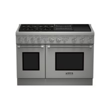48 inch Professional Series Pro Harmony Standard Depth Dual Fuel Range PRD484NCHC