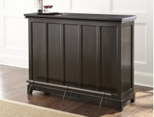 "Garcia Silverstone Top Counter Bar Unit, 56"" x 18"" x 38"" (KD)"