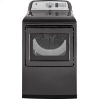 ®7.4 cu. ft. Capacity Smart aluminized alloy drum Electric Dryer with HE Sensor Dry
