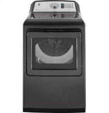 GE Diamond Gray High Capacity Top Load Washer Dryer Set