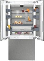 """400 Series Three-door Bottom Freezer With Fresh Cooling Close To 32 (degree)f Fully Integrated Niche Width 36"""" (91.4 Cm)"""