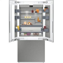"""400 series 400 series three-door bottom freezer With fresh cooling close to 32 °F Fully integrated Niche width 36"""" (91.4 cm)"""