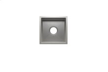 """J7® 003917 - undermount stainless steel Bar sink , 12"""" × 12"""" × 7"""""""