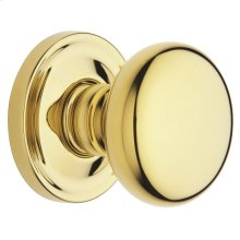 Lifetime Polished Brass 5015 Estate Knob