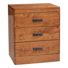 Crossan 3 Drawer Nightstand