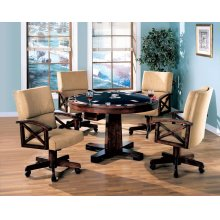 Marietta Casual Tobacco Finished Game Table