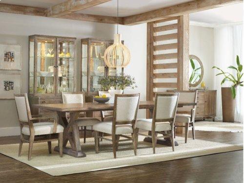 Studio 7H Geo Trestle Dining Table
