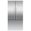 """Fisher & Paykel Freestanding French Door Refrigerator Freezer, 36"""", 20.1 Cu Ft, Ice"""