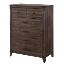 Richmond Rustic Dark Grey Oak Chest