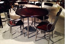 Sterling / Cherry Dinette Chair