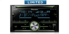 Double DIN CD Receiver with Enhanced Audio Functions, Improved Pioneer ARC App Compatibility, MIXTRAX ® , Built-in Bluetooth ® , and SiriusXM-Ready ""