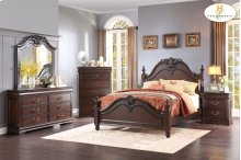 Queen Bed, dresser,mirror,night stand