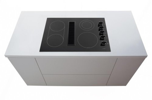 "30"" Electric Downdraft Cooktop"