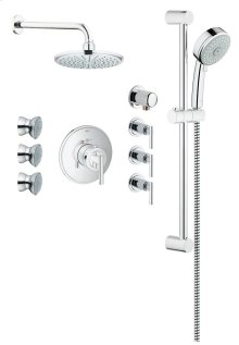 Eurosmart Timeless THM Custom Shower Kit