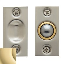 Non-Lacquered Brass Adjustable Ball Catch