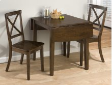 Richmond Cherry Drop Leaf Table and Two X Back Dining Chairs