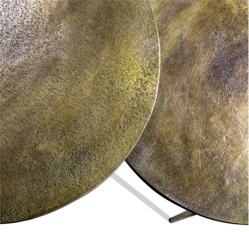 Lucia Side Tables - Brass