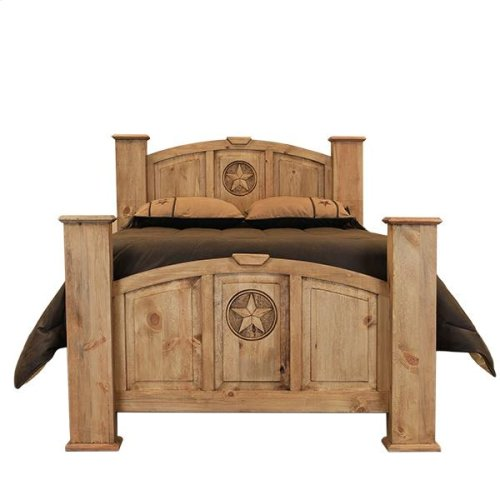 King Mansion Bed W/Star