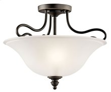 Tanglewood 2 Light Semi Flush Olde Bronze®