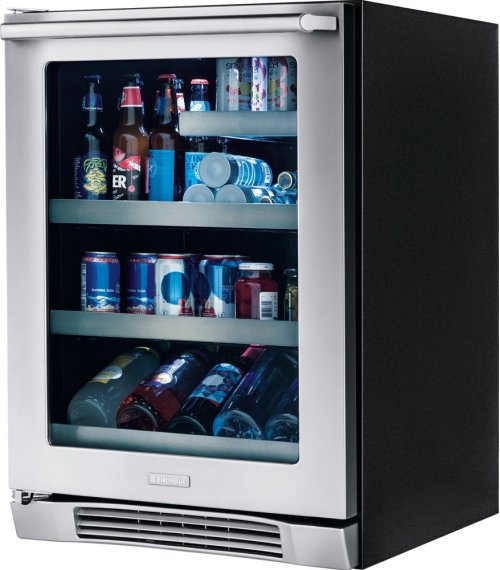 24'' Under Counter Beverage Center with Left Hand Door Swing