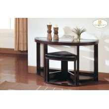 Console Table with Stool
