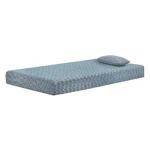 AshleyASHLEY SIERRA SLEEPIkidz Blue Twin Mattress and Pillow