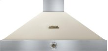Hood DECO 48'' Cream matte, Bronze 1 power blower, analog control, baffle filters