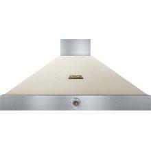 Hood DECO 48'' Cream matte, Bronze 1 power blower, analog control, baffle filters