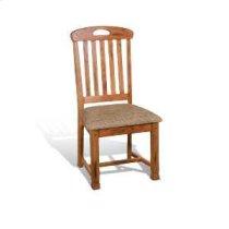 Sedona Slatback Chair w/ Cushion Seat Product Image