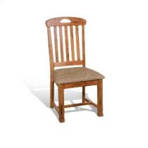 Sedona Slatback Chair w/ Cushion Seat Product Image
