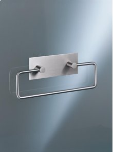 Towel holder - Brushed stainless steel